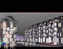 Conceptual design of Business-residential building