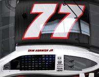 MOBIL NASCAR CAR DESIGN