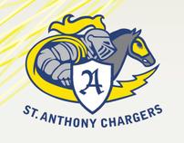 St. Anthony School Athletic Association Identity