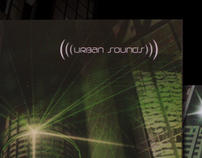 Urban Sounds Album design - College Project