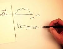 Timelapse drawing - mulino bianco