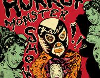 Horror Monster Show - posters