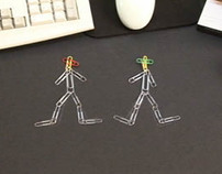 Paper Clips animation