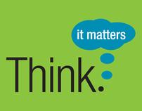 Think, It Matters - Logo Design