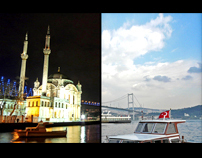 Night and Daytime İstanbul City