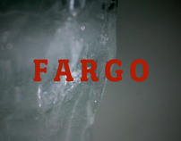 Re-imagined title sequence for the film 'Fargo'.