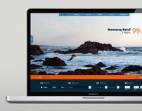 Travel Website Redesign