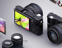 Samsung NX200 Camera Infographic