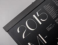 Miloš Budík 2015 calendar