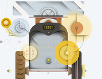 Audi Rallye poster.