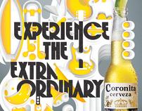 Coronita. Experience the extraordinary.