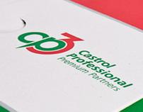"""CP3"" Logo and Premium Partners Folder Design"