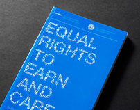 Book Cover - Equal Right to Earn and Care
