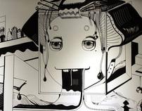 The Monster Mural 17m