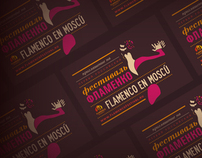 Graphic materials for Flamenco Festival