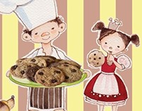 Oliver, the Chocolate Baker -  children's book