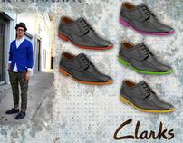 Clarks Men Footwear Concept