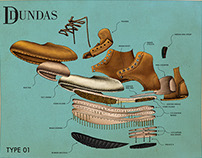 Exploded Type 01 - Dundas Footwear