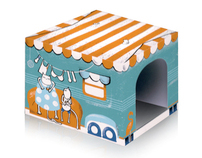 Kitschy Kats, Fancy Feline Outhouses