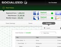 Socialized (Game Engine UI)