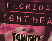 Florida Night Heat Poster