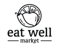 Eat Well Market Branding