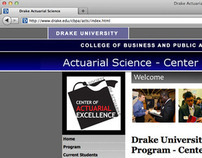 Drake Actuarial Science Website