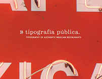 Typography of Authentic Mexican Restaurants