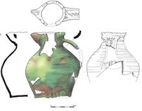 Archaeological Finds illustration - pottery