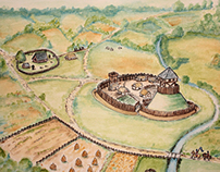 Archaeological illustration - reconstructions