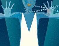 Digital Artist Magazine Art Deco in Illustrator