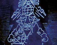 New World Order Totem. Beijing
