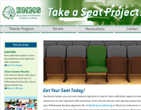 Take a Seat Project Website Design