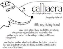 Calliaera: Revival font of Palatino