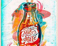 Mates of State - Gigposter