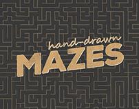 Hand-drawn Mazes