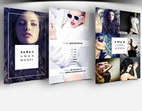 Model / Agency Comp Card