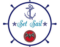 BACARDI Legacy branding for 'Set Sail' by Will Lynch