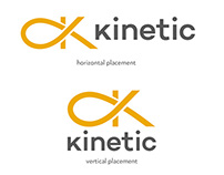 Kinetic logo and branding