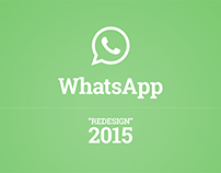 WhatsApp Redesign for iOS