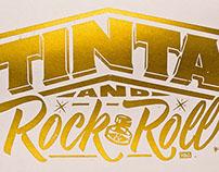 TINTA and Rock & Roll - Silkscreen
