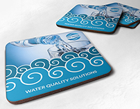 Water Technology Coaster - Drink Pad Template