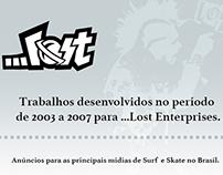 ADS • MARCIO CAU X ...LOST ENTERPRISES