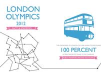 London Olympics 2012 Infographics.