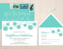 Wedding Invitations for Elevated Press