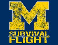 Survival Flight T-shirts