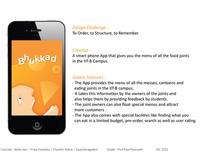 iPhone application : Bhukkad