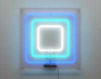 3D visualization of neon installation