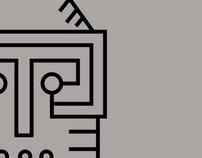 Printed Circuit Totem Animals