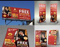 Restaurant Advertising Bundle Vol.3